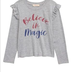 Truly me believe in magic top/bottoms size 3T